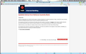 Screen grab from NAB's website